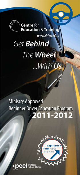 Driver Eduction Flyer