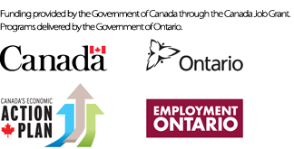 Government of Canada and Ontario Logos